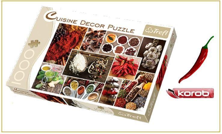 Puzzle 1000 Przyprawy Kolaz Trefl 10358 Wys 24 4649915509 Oficjalne Archiwum Allegro Puzzle Puzzle Pieces Puzzle 1000