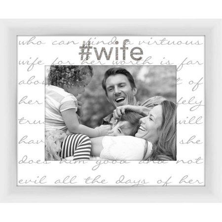 Living 31, Virtuous Wife II decorative 5x7 Photo Frame, 11.25x9.25 ...