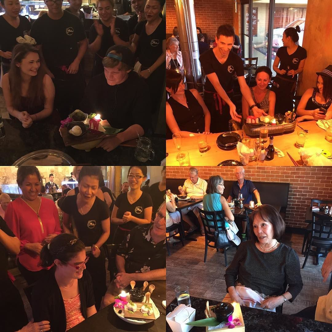 Thanks for celebrating at Zen. We love to celebrate with our guests. by @zenasianbbq via http://ift.tt/1RAKbXL