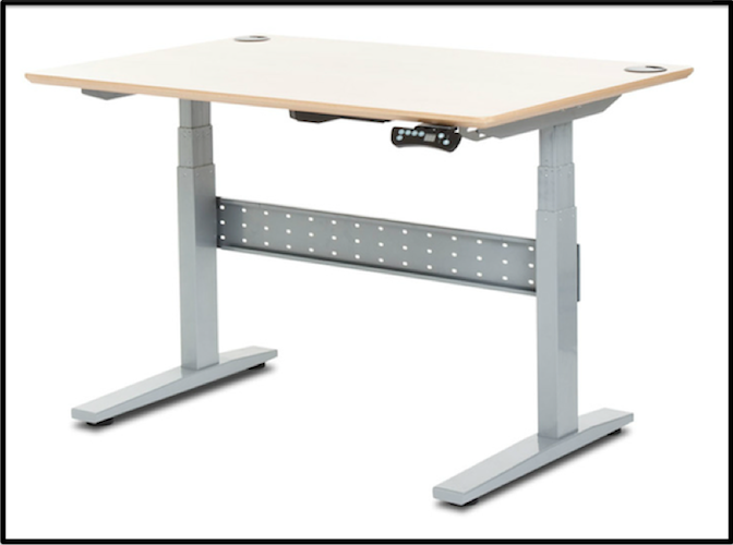 Adjule Height Desk And Home Office 8 Best Stand Up Desks Images On Pinterest Standing
