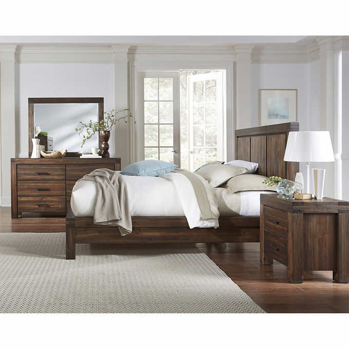 Mellina 5-piece King Bedroom Set | For the Home | Panel bed ...