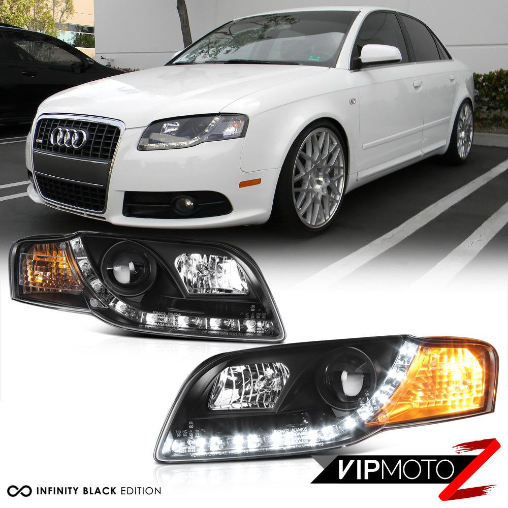 Pin By Gregor On Audi Pinterest Audi A B And Audi A - 2006 audi a4 headlights