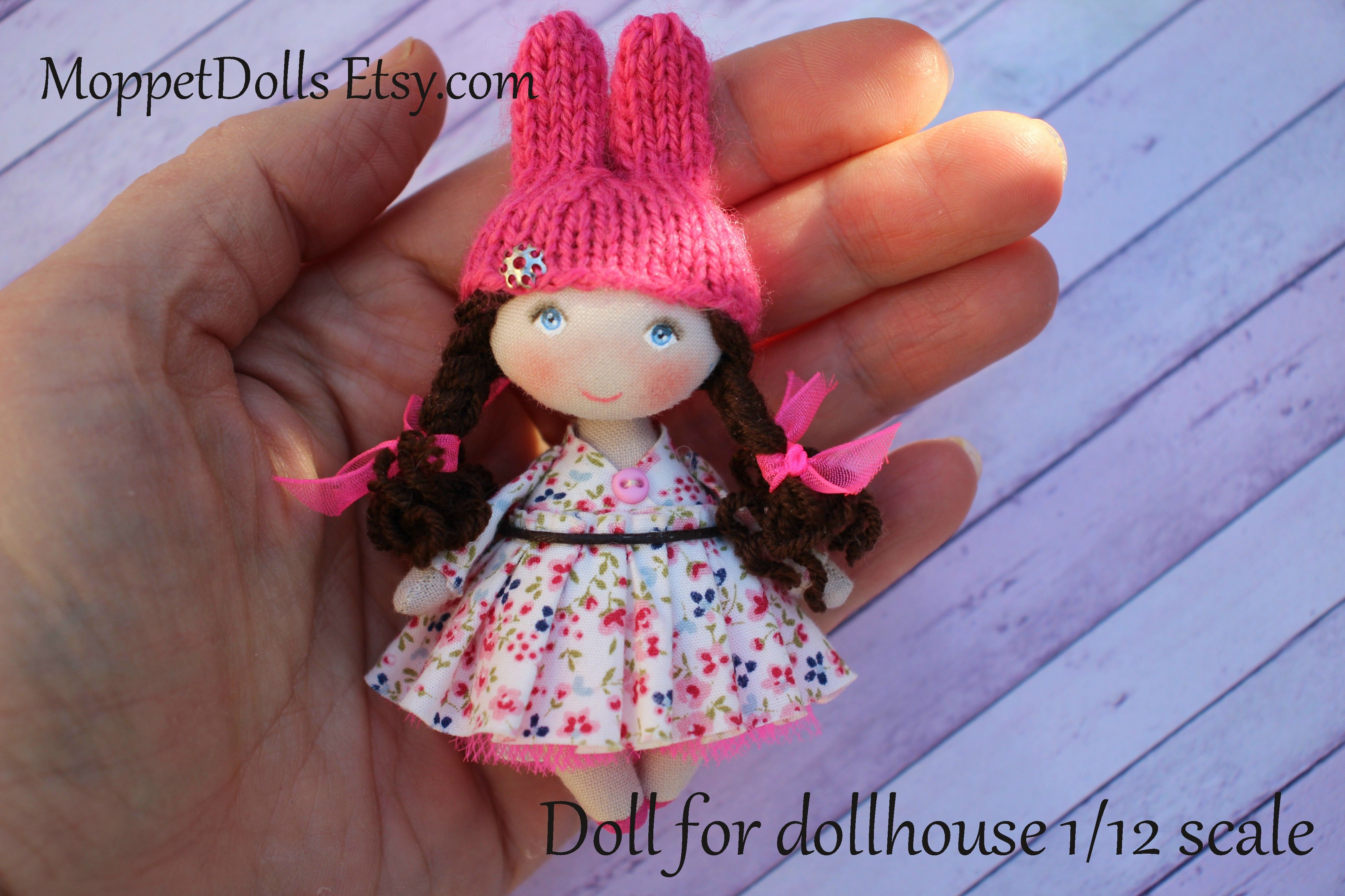 Dollhouse accessory miniature rabbit bunny doll mini fabric doll dollhouse accessory miniature rabbit bunny doll mini fabric doll tiny cloth art doll negle Images