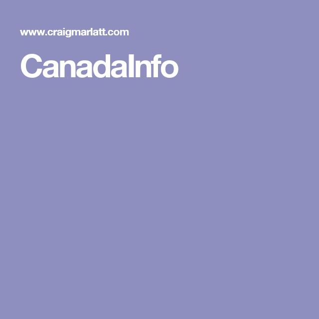CanadaInfo