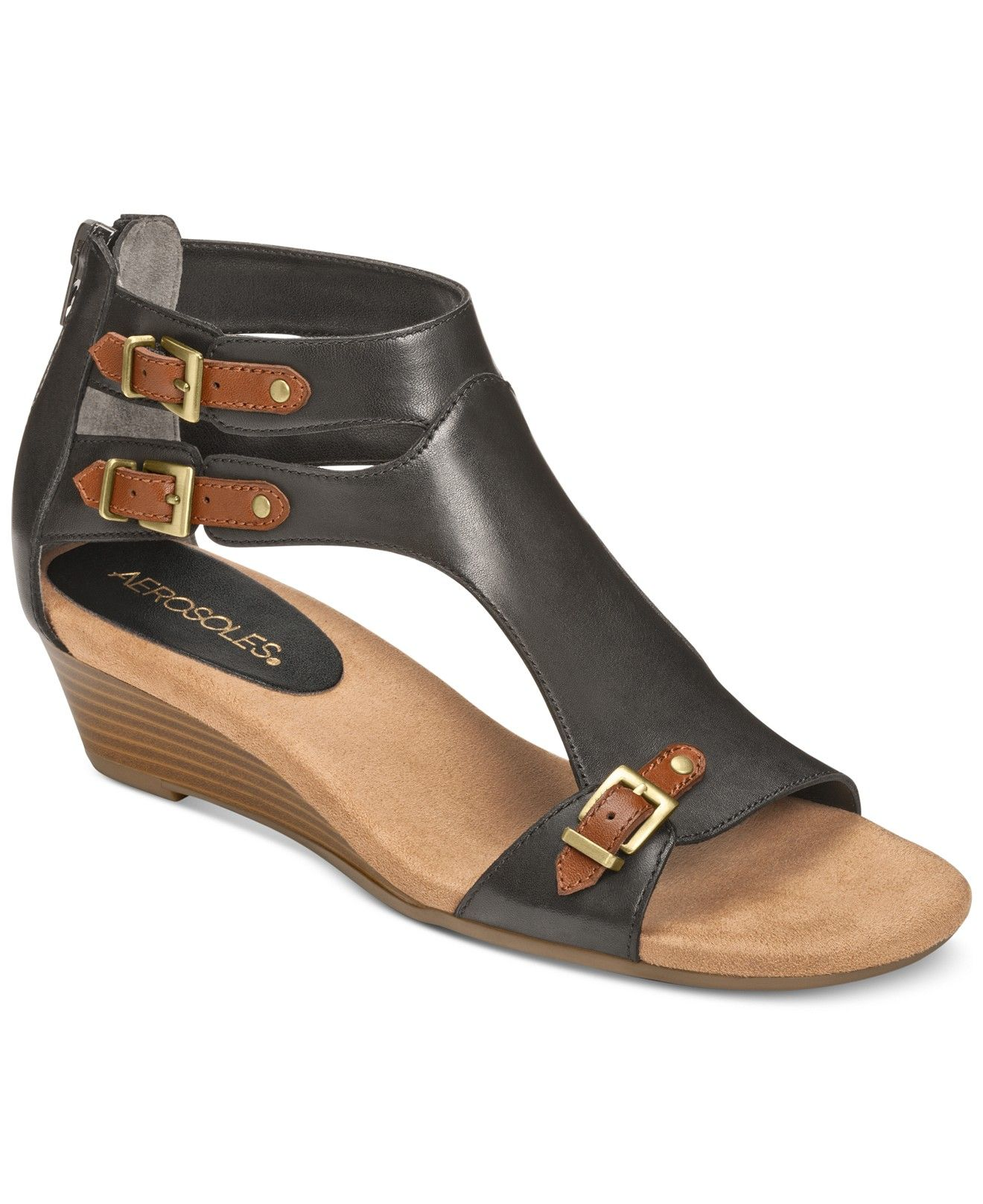 Aerosoles Yet Another Wedge Sandals - Shoes - Macy's