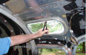 Removing the Inner Pane of Vista View Windows | Airstream RV