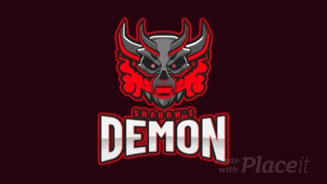 Animated gaming logo maker featuring a devilish demon 1877t 2931