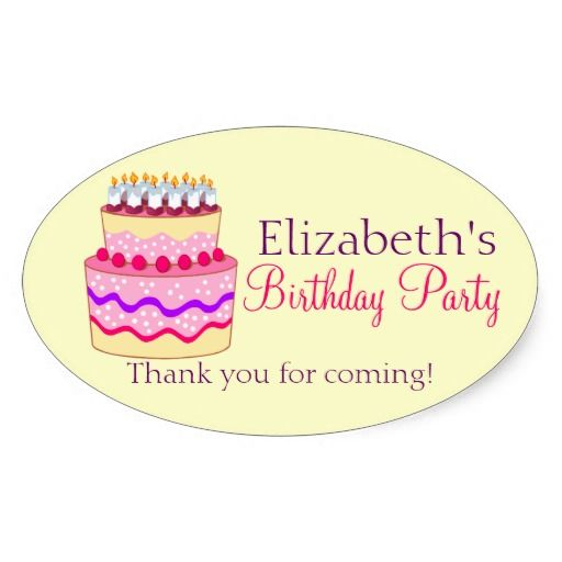 This deals happy birthday cake personalized sticker happy birthday cake personalized
