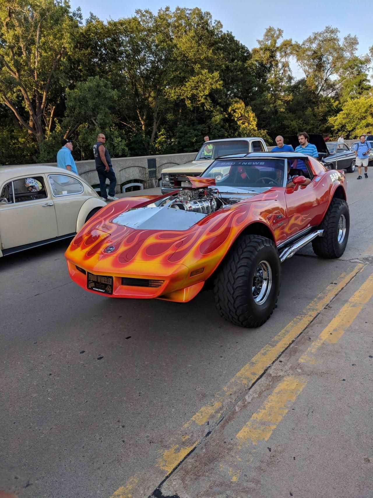 Bad News C3 Corvette 4x4 Corvette 4x4 Chevrolet Corvette