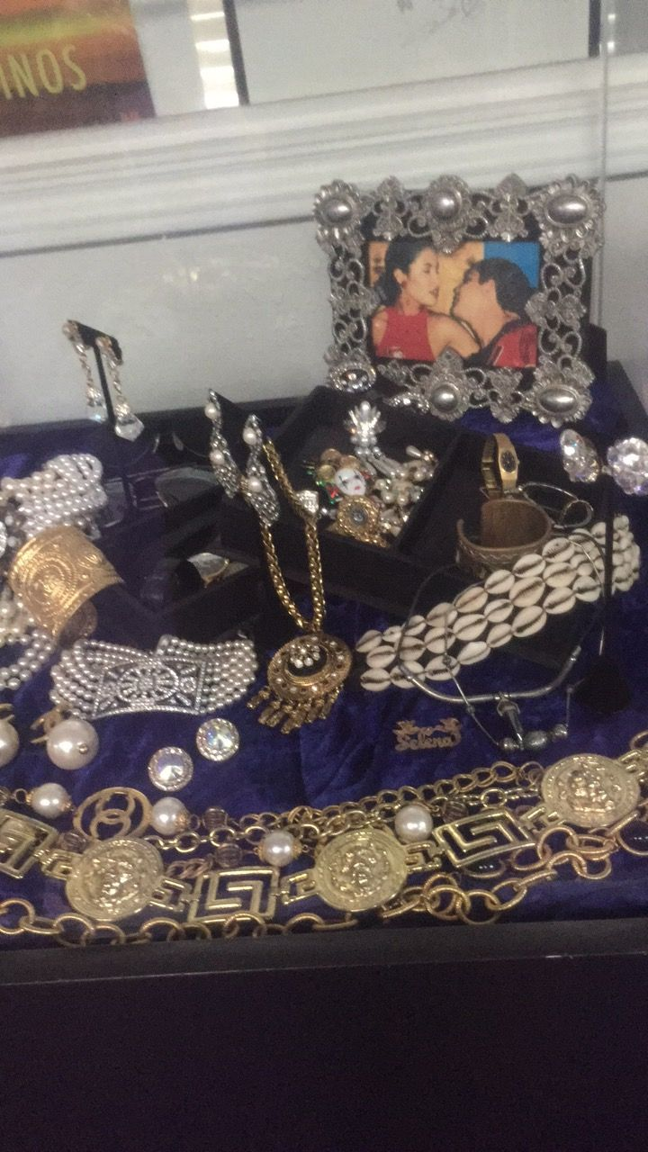 404c6a000a4 Selena Quintanilla jewelry Selena museum Q productions Corpus Christi Texas
