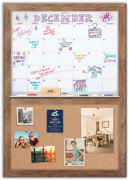 Dry Erase Calendar 34 X 48 Home Command Center Dry Erase