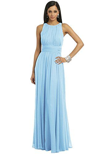 New Trending Formal Dresses: Ssyiz Womens Elegant Pleated Chiffon Floor Length Evening Party Dress Light Blue X-Large. Ssyiz Women's Elegant Pleated Chiffon Floor Length Evening Party Dress Light Blue X-Large   Special Offer: $42.99      399 Reviews About Products:SSYIZ brand provide you all beautiful evening dresses. Rush service and custom service are available. If you have any questions about our...
