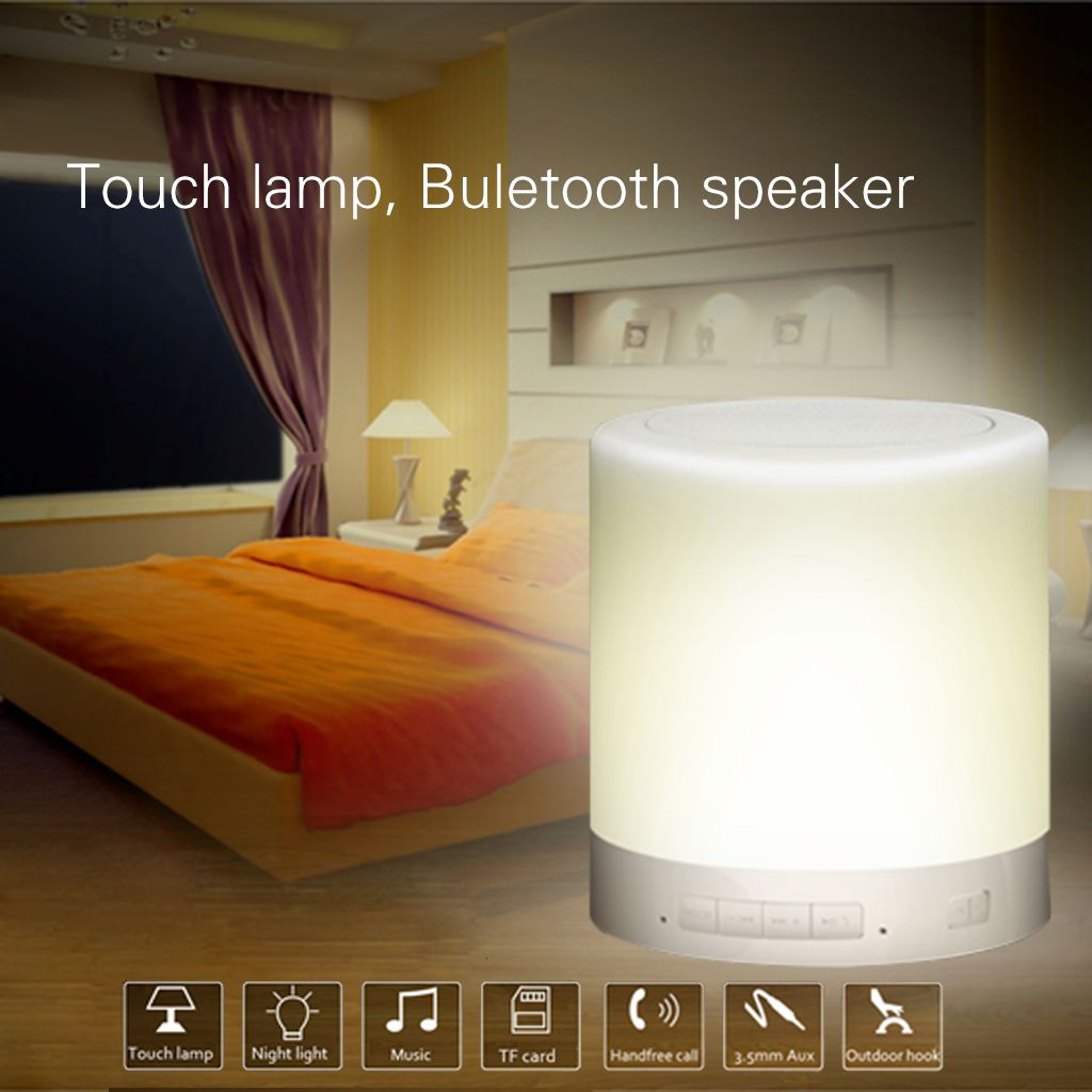 Touch Lamp Bluetooth Speaker Touch Lamp Lamp Light Music
