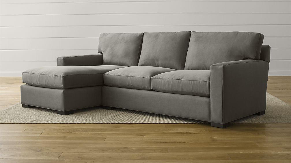 Axis II 2-Piece Sectional Sofa | Crate and Barrel