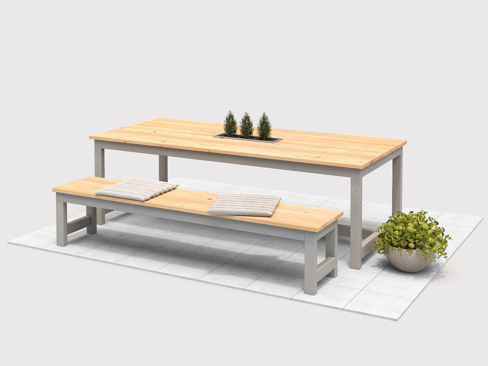 Gartentisch Richard Selber Bauen Alle Mobel Gartentisch