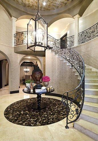 #KhloeKardashian's California Home: Stairwell>> http://www ...