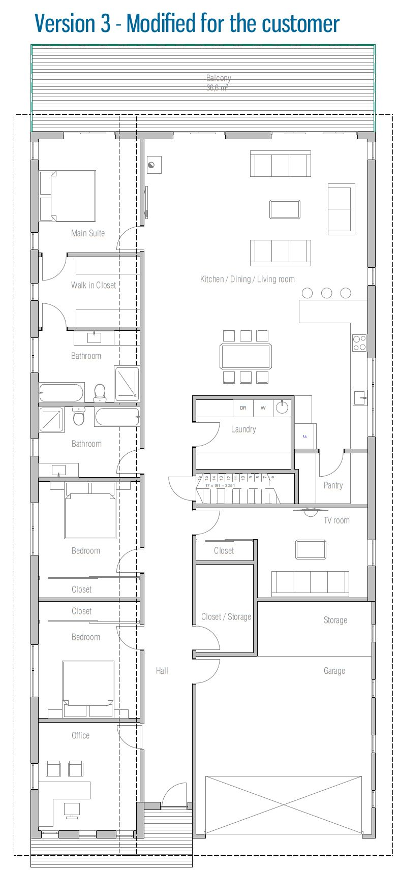 House Plan CO105