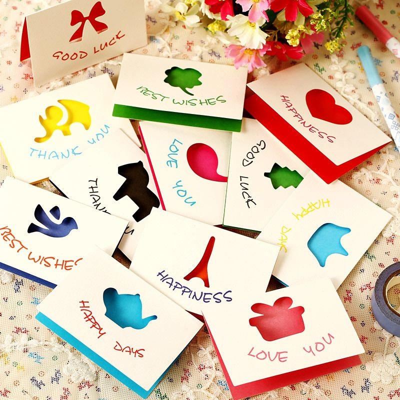 10 pcslot create cute elves and animal style paper kraft envelope 10 pcslot create cute elves and animal style paper kraft envelope korean greeting card m4hsunfo Images