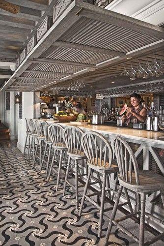 New Old Encaustic Patterned Floors Reedition Of Old Tiles Luxurystyle Es Mediterranean Other Other Metro Lu Restaurant Decor Bar Design Cafe Design