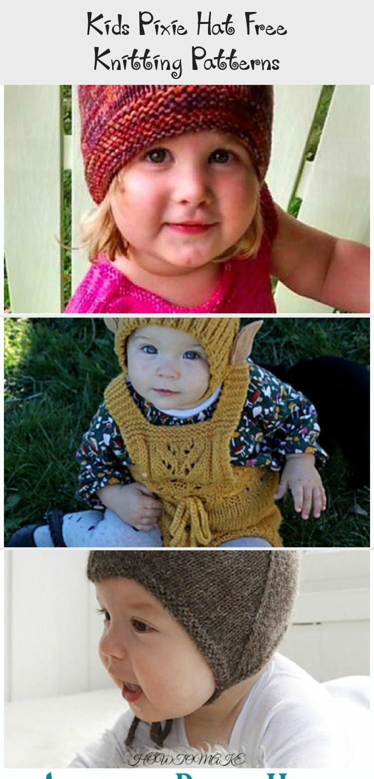Photo of Collared Pixie Hat Knitting Free Pattern – Kinder #Pixie; #Hut; Kostenlos #Knitting; P …