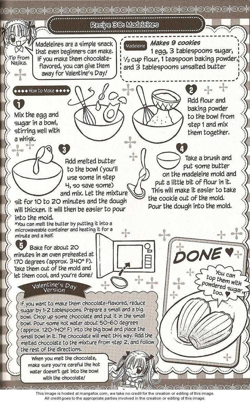 Madeleines) -Recipe #30- Kitchen Princess 33: Najika and the ...