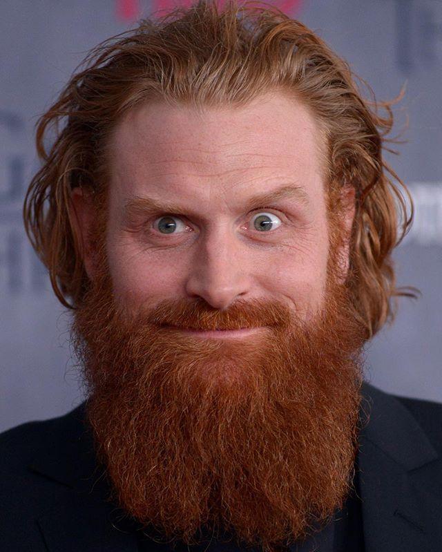 Happy 38th Birthday Kristofer Hivju Kristoferhivju Tormund Gameofthrones Hbo Kristofer Hivju Ginger Men Ramsay Bolton