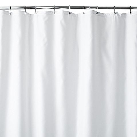 Bed Bath And Beyond Shower Curtain Liner the hotel fabric shower curtain liner offers the ultimate in