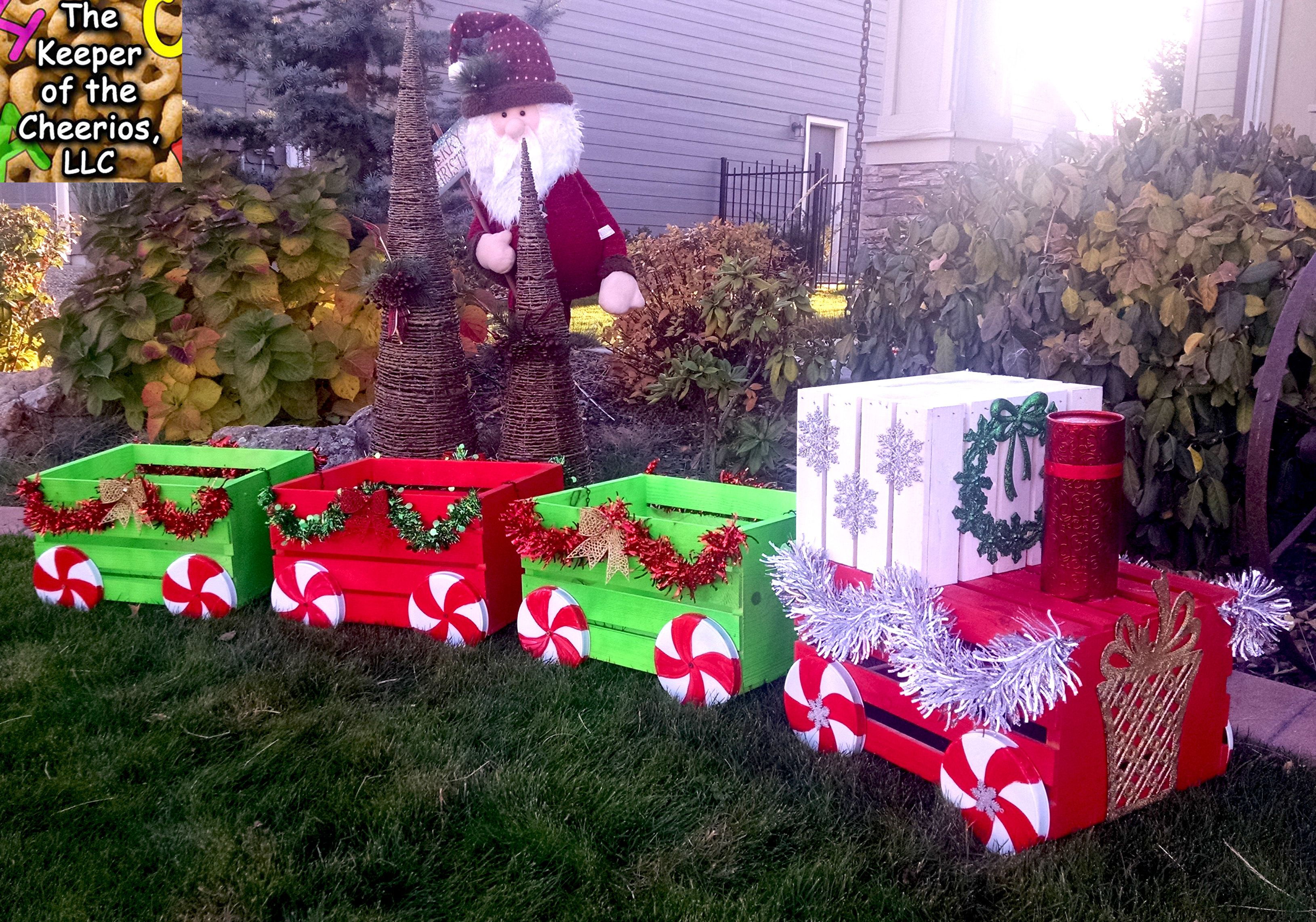 Christmas Crate Train