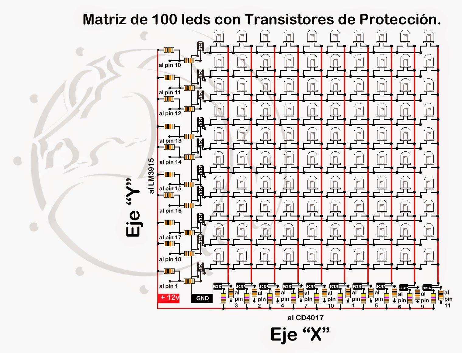 Vumetros A Led Descubre Los Secretos De Un Armado Exitoso Circuito Basado Probador Transistores Vumetro