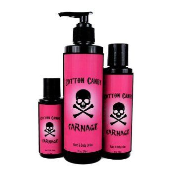 Cotton Candy Carnage Hand Body Lotion Hand Body Lotion Hand