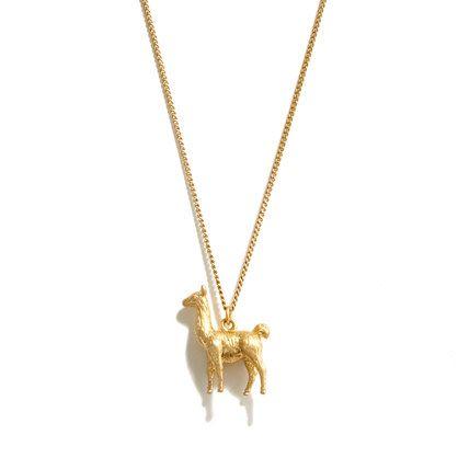 Llama Love Necklace