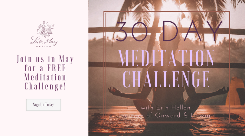 Join us for a 30 Day Meditation Challenge!! Who is this ...