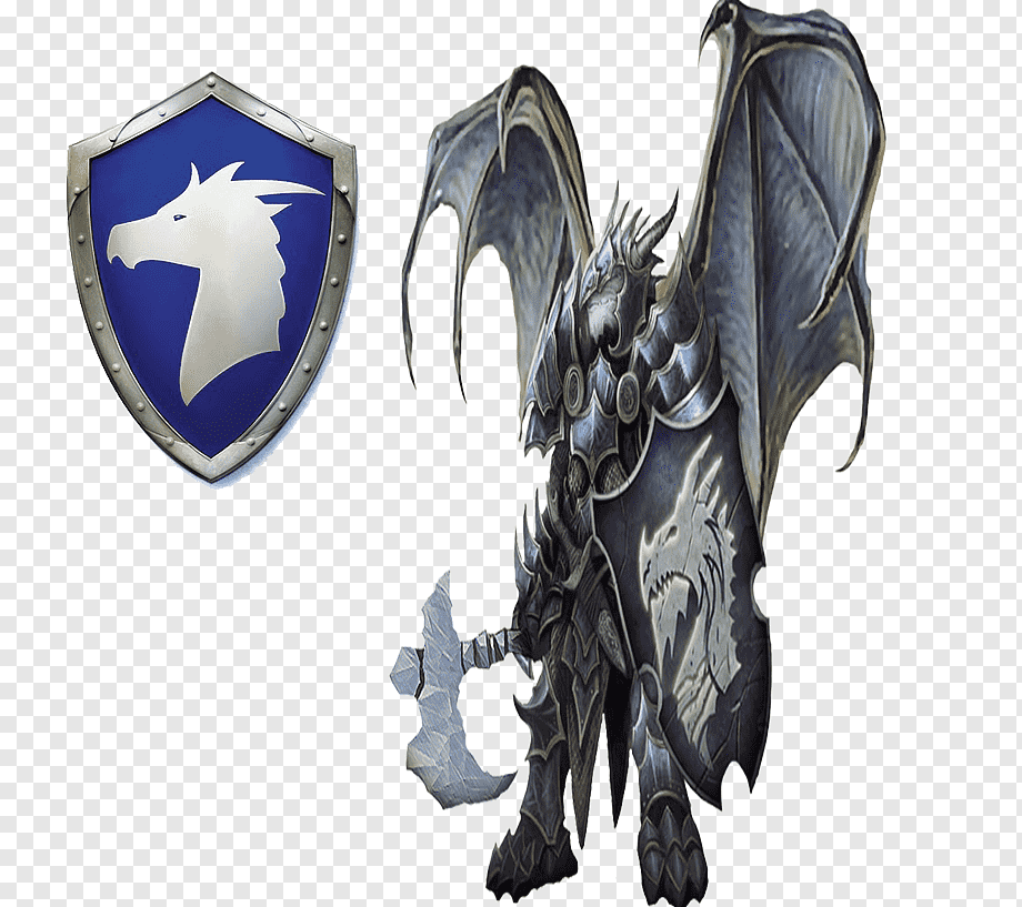 Dragon Bahamut Knight Figurine Symbol Dragon Dragon Fictional Character Symbol Png Shadow Monster Granblue Fantasy Characters Dragon Illustration