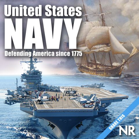 Anchors Aweigh National Review Salutes The Brave Men And Women Of The United States Navy Ready Guardians Of Peace Vi United States Navy Navy Ships Navy Day