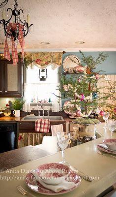 Far Above Rubies Farmhouse Christmas Kitchen