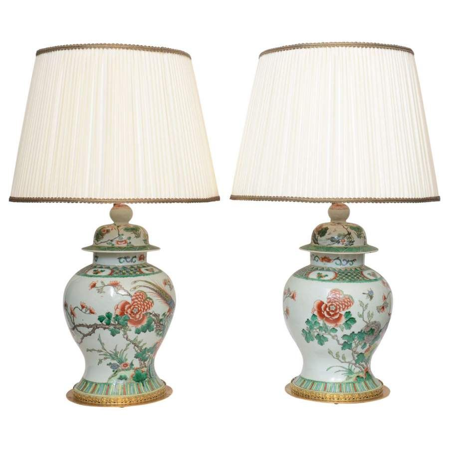 of asian jar table pair nyshowplace century lamps inspired mid ginger spectacular lamp