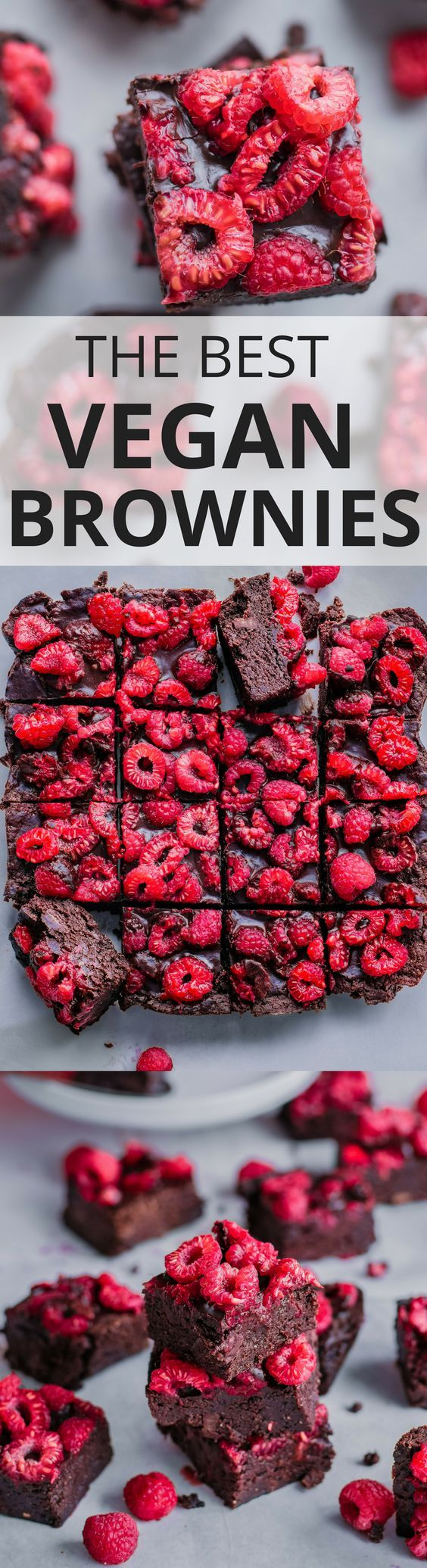 The BEST Vegan Brownies Ever! Chewy, rich and fudgy, these vegan brownies have everything…