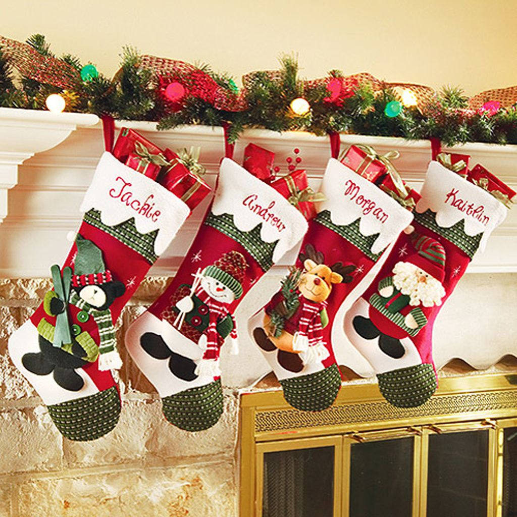 Personalized Diy Christmas Stockings Ideas | Stocking ideas ...