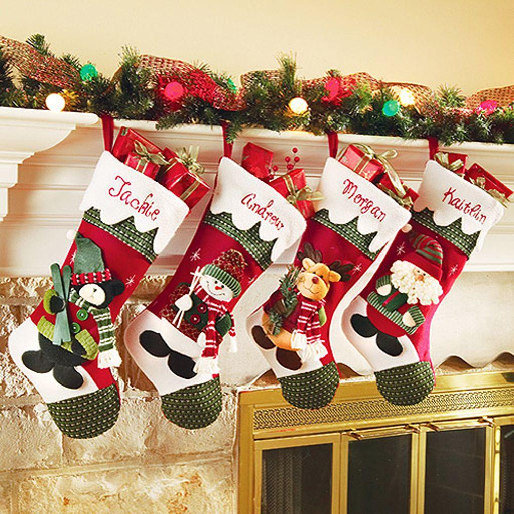Personalized Diy Christmas Stockings Ideas Yilbasi Coraplari
