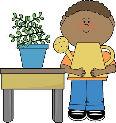 boy boy classroom plant helper clip art for schedules pinterest rh pinterest com