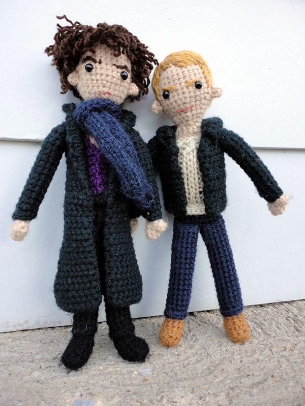 Sherlock and John Together by ~LRDolls on deviantART