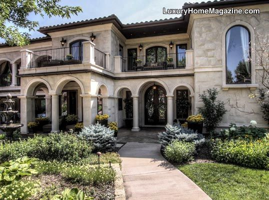 Contemporary Mediterranean Home And Architecture Denver Luxury Home Magazine Real Estate
