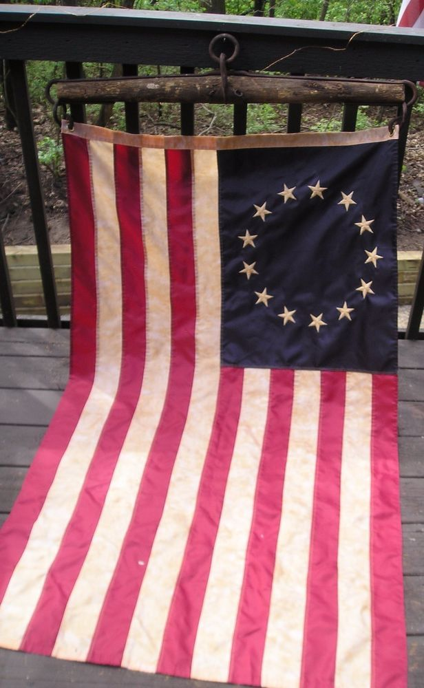Patriotic Vintage 36 Horse Yoke With 13 Colony Flag 13 Colonies Flag Patriotic 13 Colonies