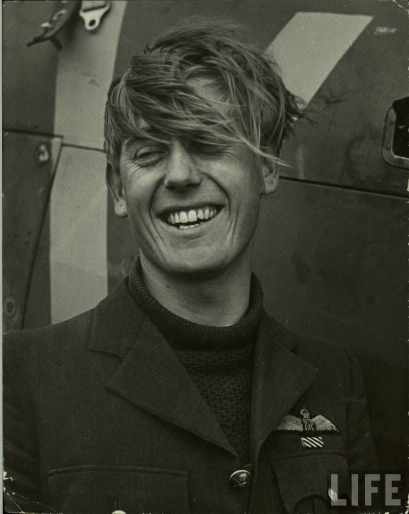 Battle of Britain pilot Flying Officer Albert Gerald Lewis  http://www.thefedoralounge.com/showthread.php?42832-The-story-of-a-pilot