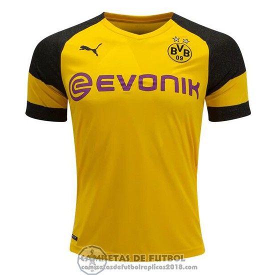 3e4eabe8d943e Comprar Camiseta Borussia Dortmund Primera Barata 18-19 - Camisetas de futbol  replicas baratas 2018