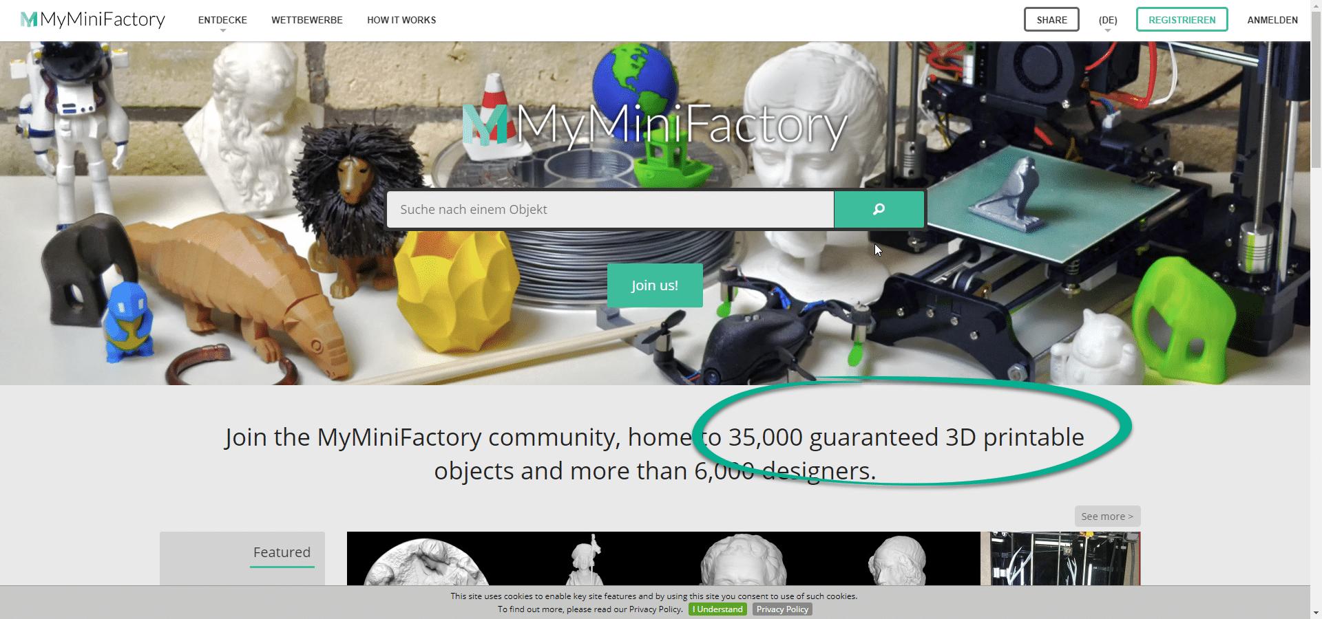 3D Druckvorlagen kostenlose Quellen Drucken, 3d druck