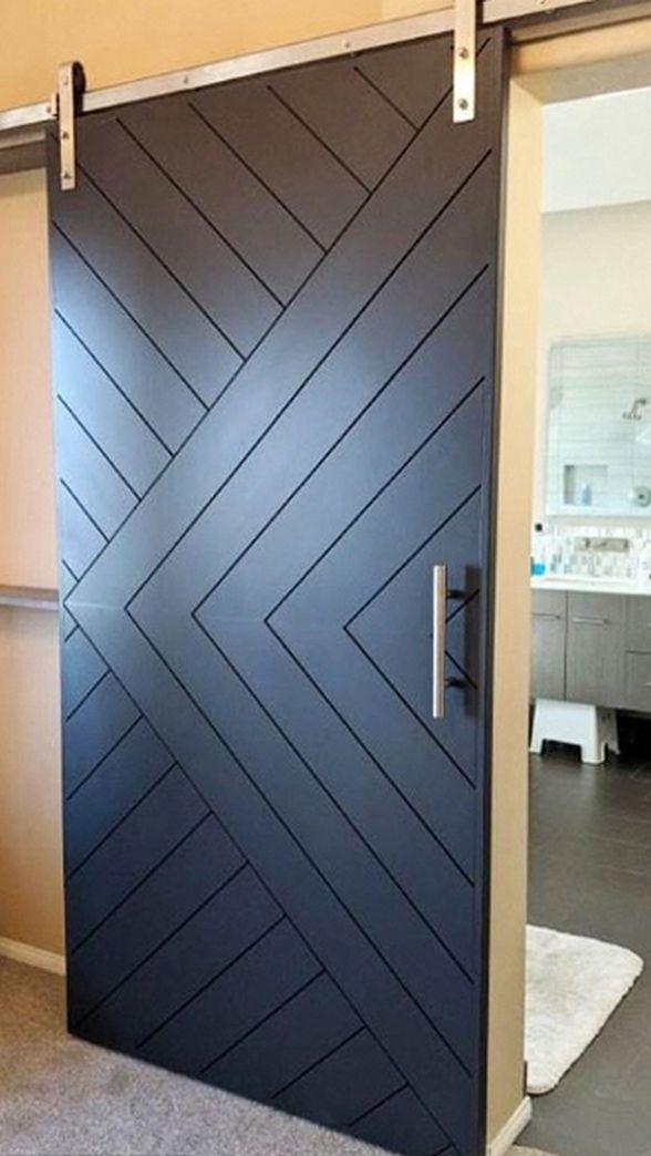 78 Barn Door Closet Ideas You Can Diy In 2020 With Images Barn Door Designs Modern Closet Doors Bedroom Closet Doors