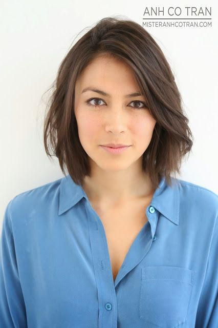 This bob looks absolutely stunning! I want to learn how to style my hair like that.  MISTER ANH COTRAN