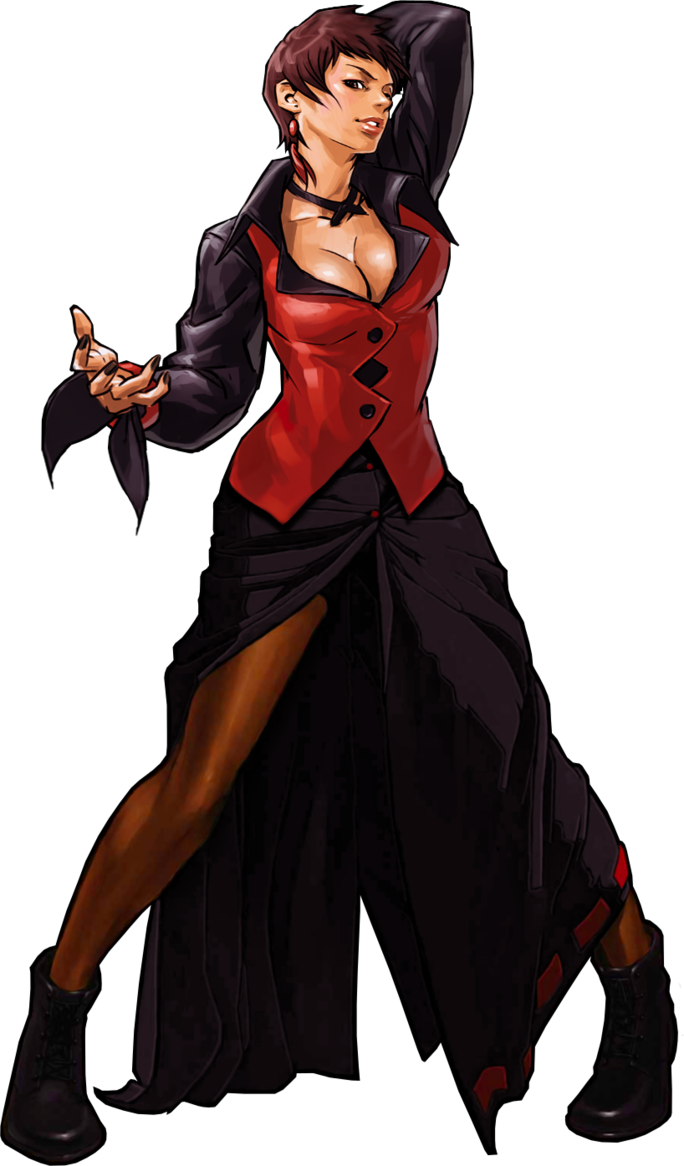 Vice Kof Remake By Topdog4815 King Of Fighters Fighter Girl Art Of Fighting