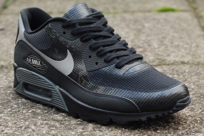 nike air max 90 reflective 'snow camo' mens trainers